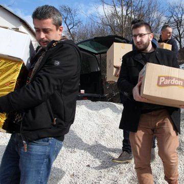 NOVA AKCIJA U PROZORU: Zlatni momci sa Buka, humanitarci, ponovo na djelu