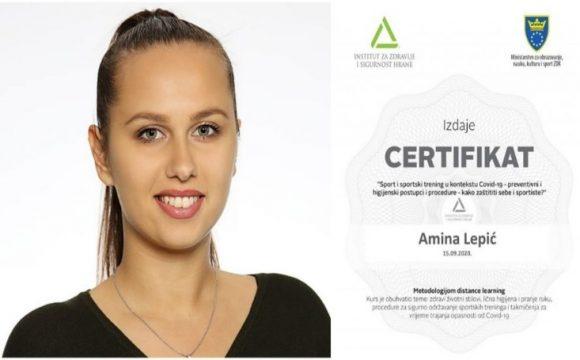 Trenerica KRG 'Visoko' Amina Lepić brine o zdravlju članica svog kluba