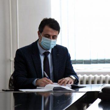 """Gradonačelnik Mirza Ganić: """"Povećat ćemo obuhvat zimskog održavanja lokalnih cesta na području Visokog"""""""